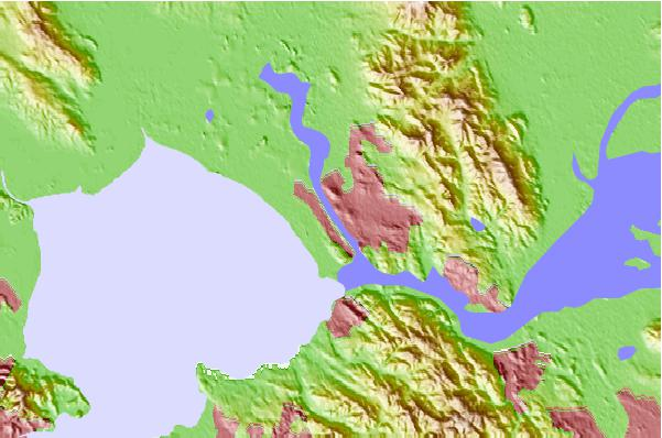 Tide stations located close to Vallejo, Mare Island Strait, Carquinez Strait, California