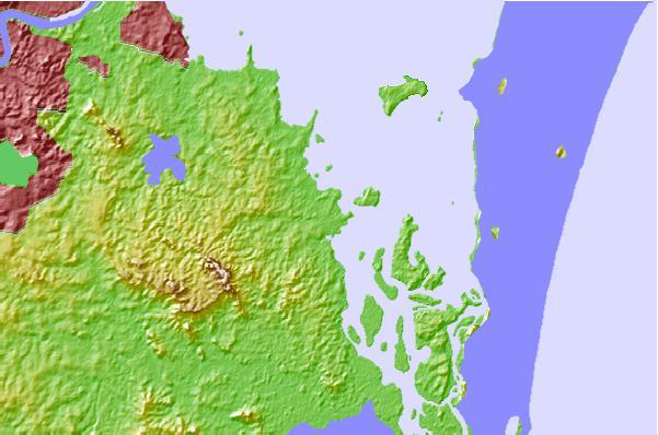 North Stradbroke Island Sea Forecast