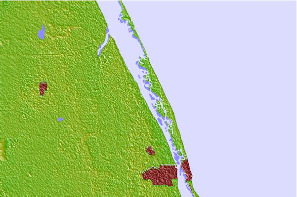 Tide stations located close to Wabasso, Florida
