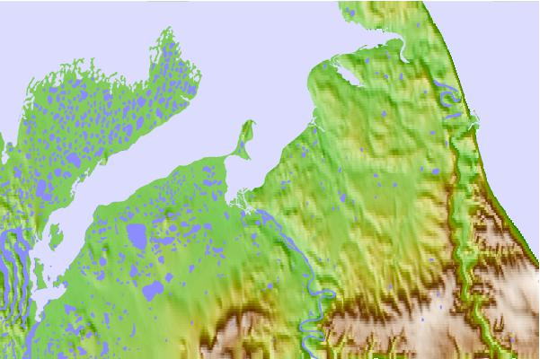 Tide stations located close to Wood Bay, Nunavut/NWT